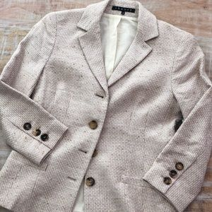 Theory Darling Pansy Combo Jacket